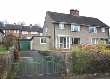 Thumbnail 3 bed semi-detached house for sale in 6, Bron Y Gaer, Llanfyllin, Powys