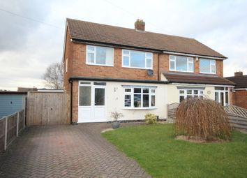 Thumbnail 3 bed semi-detached house for sale in St. Catherines Close, Burbage, Hinckley
