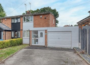 Thumbnail 2 bed semi-detached house for sale in Hillview Road, Rubery, Birmingham