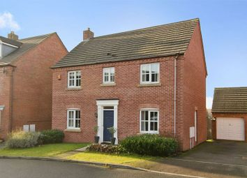 Thumbnail 4 bed detached house for sale in Silverdale Drive, Chase Terrace, Burntwood