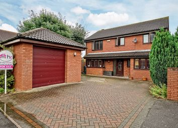 Thumbnail 4 bed detached house for sale in Lottings Way, Eaton Ford, St Neots, Cambridgeshire