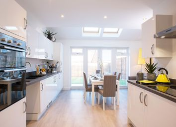"Thumbnail 3 bedroom semi-detached house for sale in ""The Acton"" at Deardon Way, Shinfield, Reading"