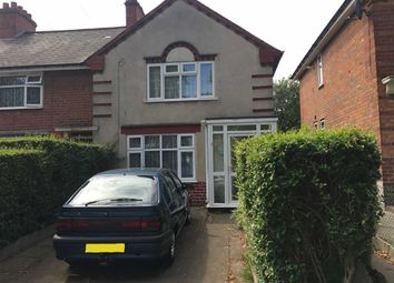 Thumbnail 3 bed semi-detached house for sale in Pelham Road, Saltley, Birmingham