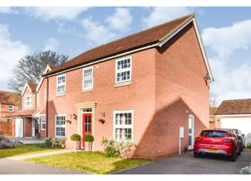 Thumbnail 4 bed detached house for sale in Heron Way, Market Rasen