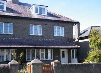 Thumbnail 5 bed semi-detached house for sale in Castle Street, Criccieth, Gwynedd