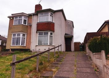 Thumbnail 2 bedroom semi-detached house for sale in Marsh Lane, West Bromwich