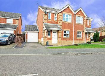 Thumbnail 3 bed semi-detached house for sale in Carter Road, Maidenbower, Crawley