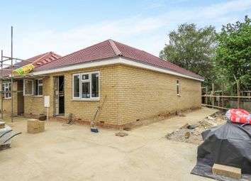 Thumbnail 2 bed detached bungalow for sale in Bakers Lane, Woodston, Peterborough