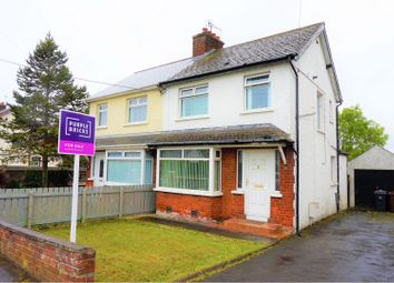 Thumbnail 3 bed semi-detached house for sale in Station Road, Greenisland