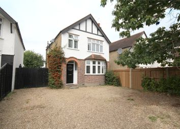 Thumbnail 3 bed detached house to rent in School Lane, Addlestone, Surrey