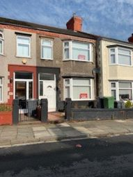 Thumbnail 3 bed terraced house to rent in Gorsefield Rd, Birkenhead
