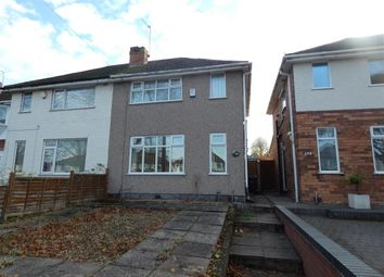 Thumbnail 2 bed semi-detached house to rent in Cranes Park Road, Sheldon, Birmingham