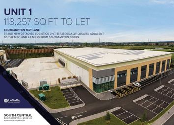 Thumbnail Warehouse to let in Unit 1 South Central, Test Lane South, Nursling, Southampton, Hampshire