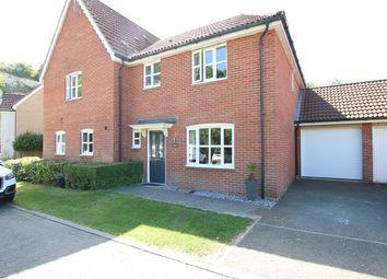 3 bed semi-detached house for sale in Fir Tree Lane, Claydon, Ipswich, Suffolk IP6