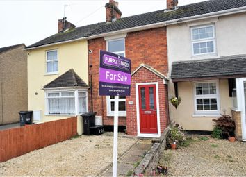 Thumbnail 2 bed terraced house for sale in Beechcroft Road, Swindon