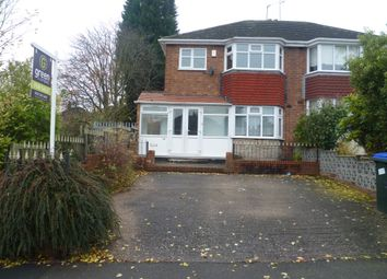Thumbnail 3 bed semi-detached house for sale in Gorse Farm Road, Great Barr, Birmingham