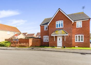 Thumbnail 4 bed detached house for sale in Chequers Close, Corby