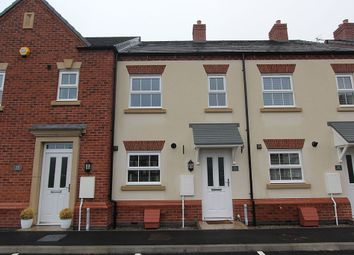 Thumbnail 2 bed terraced house for sale in Peacock Place, Wigston, Leicestershire