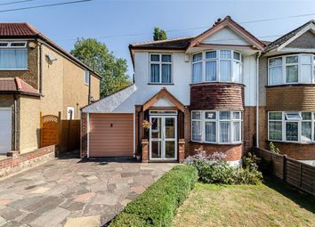 Thumbnail 3 bed semi-detached house for sale in Palmer Avenue, Sutton, Surrey