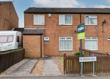 Thumbnail 4 bed semi-detached house for sale in Devon Road, Rednal, Birmingham