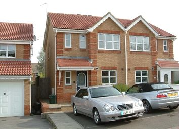 Thumbnail 3 bed semi-detached house to rent in Carter Road, Maidenbower, Crawley
