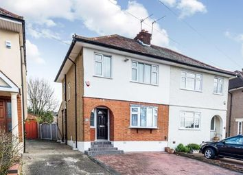 Thumbnail 3 bed semi-detached house for sale in Highfield Close, Collier Row, Romford