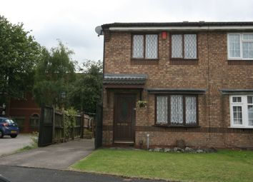 Thumbnail 2 bedroom semi-detached house for sale in Ravensbourne Grove, Willenhall