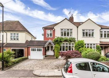 Thumbnail 3 bed semi-detached house for sale in Phipps Hatch Lane, Enfield
