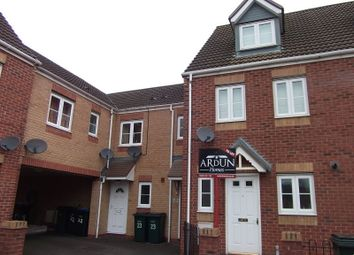 Thumbnail 3 bed terraced house to rent in Cobb Close, Coventry