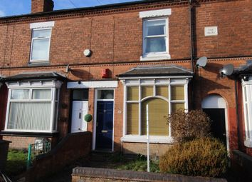 Thumbnail 2 bed terraced house to rent in Wood Lane, Harborne, Birmingham