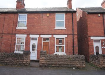 Thumbnail 2 bedroom end terrace house for sale in Montague Street, Nottingham