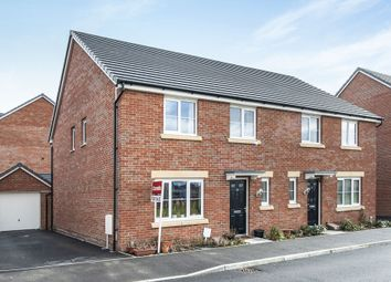 Thumbnail 4 bed semi-detached house for sale in Argus Green, Swindon