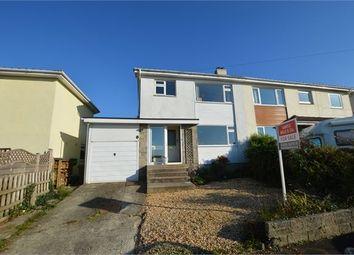 Thumbnail 3 bed semi-detached house for sale in Bowden Road, Ipplepen, Newton Abbot, Devon.