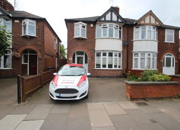 Thumbnail 3 bedroom property to rent in Queens Road, Clarendon Park, Leicester, Leicestershire