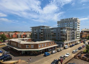Thumbnail 1 bed flat to rent in Skyline Apartments, The Causeway, Worthing