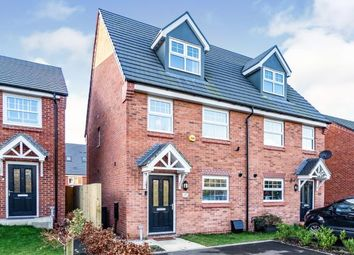 Thumbnail 3 bedroom semi-detached house for sale in Armfield Grove, Leigh, Greater Manchester
