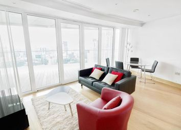 Thumbnail 2 bed flat to rent in Arena Tower, 25 Crossharbour, London