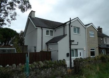 Thumbnail 3 bed end terrace house for sale in Rhosbodrual Terrace, Rhobodrual, Caernarfon
