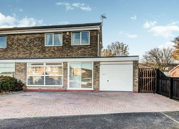Thumbnail 3 bed semi-detached house for sale in Orpington Road, Cramlington