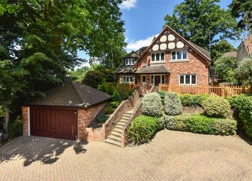 Thumbnail 4 bed detached house for sale in Coolarne Rise, Camberley, Surrey