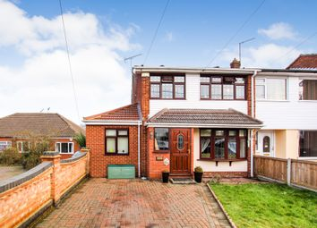 Thumbnail 4 bed semi-detached house for sale in Lodge Lane, Collier Row, Romford
