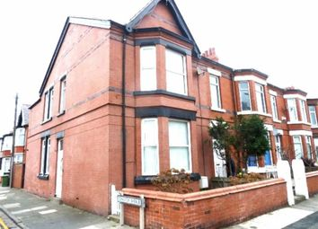 Thumbnail 3 bedroom end terrace house for sale in Grove Road, Wallasey