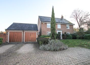 Thumbnail 4 bed detached house to rent in Meadow Lane, Newmarket
