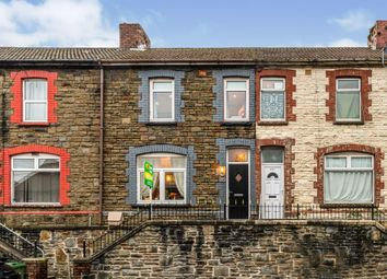 Thumbnail 4 bed terraced house for sale in Caerphilly Road, Senghenydd, Caerphilly