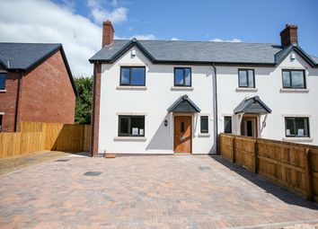 Thumbnail 3 bedroom semi-detached house for sale in Chester Road, Hinstock