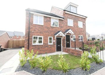 Thumbnail 3 bed semi-detached house for sale in Danesly Close, Peterlee