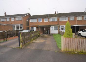 Thumbnail 3 bed terraced house for sale in George Dere Close, New Ollerton, Newark