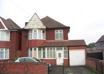 Thumbnail 3 bedroom detached house for sale in Stechford Road, Birmingham, West Midlands