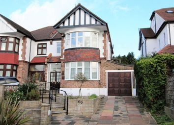 Thumbnail 4 bed semi-detached house to rent in Minchenden Crescent, London