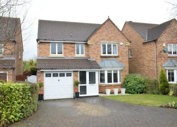 Thumbnail 4 bed detached house for sale in Hardwick Close, Oakham